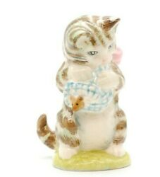 Beatrix Potter's Miss Moppet And Others Porcelain Figurines 1948 Beswick England