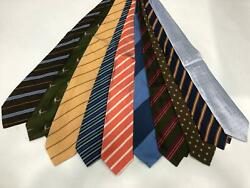 New Red And Blue By Fedeli Wholesale Ties Lot Of 100 Ties Neck 3.5 Italy Sale