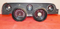 1967 Mustang Fastback Coupe Convertible Orig Dash Gauge Instrument Cluster