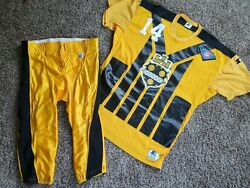 1994 Neil O'donnell Pittsburgh Steelers Team Issued Nfl Jersey And Pants 48 Game