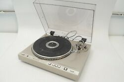 Kenwood Kd-4100 Full-auto Direct Drive Turntable As Untested/as Defective Read