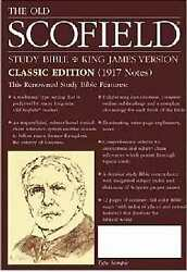 Kjv Old Scofield Study Bible-classic Editon-black Leather Cowhide Indexed