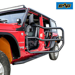Eag 2 Tubular Door With Side View Mirror Classic Fit For 2020-2021 Gladiator Jt