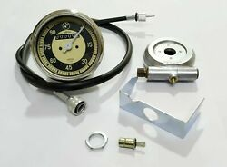 Bmw Replica Speedo 0-90 Mph + Drive And 64 Inches Cable For Bmw R25 R26 And R50-51