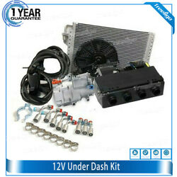 Universal 12v Dc Electric Parking Air Conditioner System Unit For Car