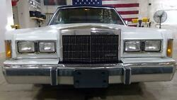 85-89 Lincoln Town Car Loaded Header Panel With Grille/lights Oxford White 9l