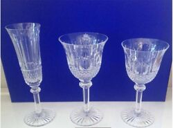 Saint Louis Crystal Tommy Glasses Set 18 Pcs In Original Box - Made In France