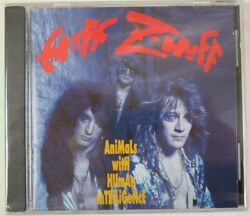Cd Animals With Human Intelligence By Enuff Znuff New Sealed Cut In Spine