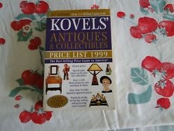 Kovelsand039 Antiques And Collectibles Price List 1999 By Ralph M. Kovel