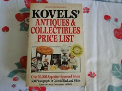 Kovelsand039 Antiques And Collectibles Price List By Ralph M. Kovel 1985-1986