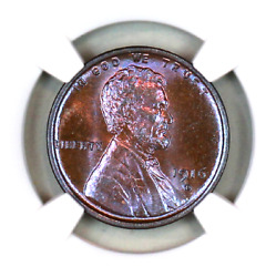 1916-d Ms65 Bn Ngc Lincoln Wheat Penny Superb Registry Quality Collection