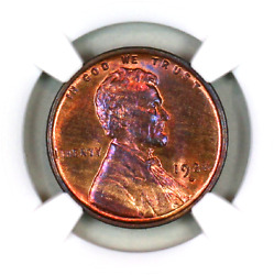 1928-s Ms64 Rb Ngc Lincoln Wheat Penny Superb Registry Quality Collection