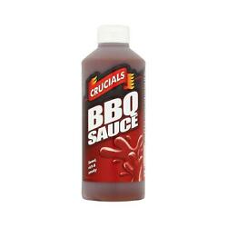Crucials Barbeque Sauce 500ml, Dip, Marinade, Ideal On Ribs, Kebabs, Pack Of 1