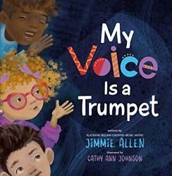 New My Voice Is A Trumpet Jimmie Allen Hardcover Book