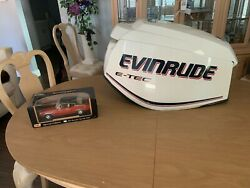 Evinrude Outboard, Etec 130hp, Motor Cowling, 2008 And Up, P0285748