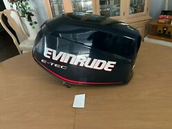 Evinrude Outboard, Etec 65hp Motor Cowling, Like New, P0285738