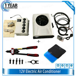 24v / 12v Farm Tractor Mini Bus Truck Car Air Conditioner System Battery Powered