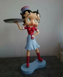 Extremely Rare Betty Boop Waitress Rollerskates Avenue Of The Stars Fig Statue