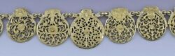 Fantastic Antique Fusee Pocket Watch Plate Filigree Steampunk Necklace