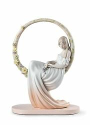 Lladro Porcelain 01009537 In Her Thoughts