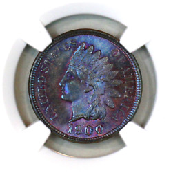 1900 Ms66 Bn Ngc Indian Head Penny Premium Quality Monster Toning