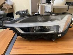 18 19 20 Volvo Xc60 Left Lh Driver Headlamp Assembly