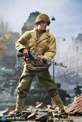 1/6 Did Wwii Us Army 2nd Ranger Battalion Private 1st Class Bar Gunner Mib