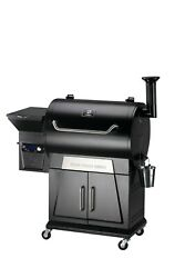 Zgrills New Wood Pellet Grill And Smoker 8 In 1 Bbq Auto Temperature Control