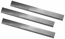 Powermatic 54a And Jet Jj-6 Jointer Knives 6-1/16 X 5/8 X 1/8 Tct Set Of 3