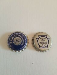 Vtg Pabst Beer Old Tankard Ale Cork-lined Beer Bottle Caps Ohio And Pennsylvania