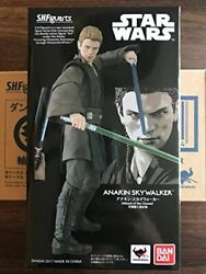 S.h.figuarts Star Wars Attack Of The Clones Anakin Skywalker With Bonus Parts