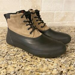 Sperry Cutwater Waterproof Deck Boots With Thinsulate Lining Mens Size 8