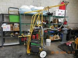 Oztec Ceiling Grinder With Vacuum System Single Phase 120/240