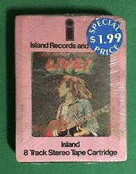 Bob Marley And The Wailers Andlsquoliveandrsquo 8-track Island Y8i-9376 Sealed