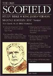 Kjv Old Scofield Study Bible Classic-black Cowhide Leather