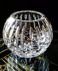 Hand Cut 24 Leaded Crystal Glass Bowl Made In Poland