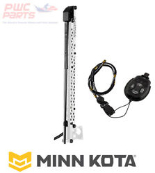 Minn Kota Raptor 8and039 Shallow Water Anchor W/active Anchoring - White 1810621