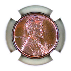 1915-d Ms65 Bn Ngc Lincoln Wheat Penny Superb Registry Quality Collection