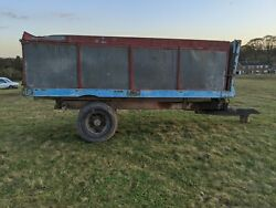 10 - 12 Ton Farm Tipping Trailer For Grain Small Holding / Horse Yard Restore