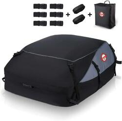 Universal Car Rooftop Luggage Cargo Bag Carrier Suv Truck Waterproof 20 Cb Ft