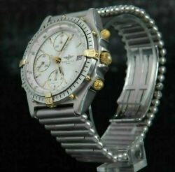 Breitling Chronomat Automatic Top Mint Condition Polished And Plated - B 13047
