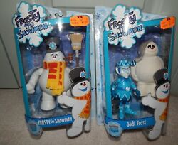 Frosty The Snowman And Jack Frost Figures Moc 2007 Round 2