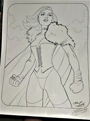 The White Queen Original Art By Casey Jones And G. W. Fisher Marvel Comics Grand