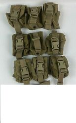 Lot Of 10 Eagle Industries Molle Ii Coyote Grenade Pouch Mc-fgc-1-ms-coy