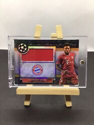 Alphonso Davies Topps Museum Collection 20/21 Jumbo Patch Relic Mmjr-ad Bayern