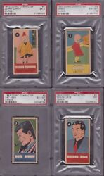 Complete 50 Card Psa Set 1953 Comic Character - All Psa Graded - Advertisement
