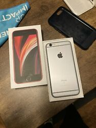 Iphone 6s Unlocked 64gb Silver With 5 6s Phone Cases And Accessories