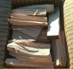 Pecan Wood Chunks For Smoking Bbq Grilling Cooking Smoker 30 Pounds