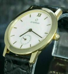 Eterna Limited Edition Manufacture Caliber In 18k Solid Yellow Gold - 3300