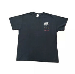 Muse The 2nd Law Local Crew 2012 Tour T Shirt Size Large